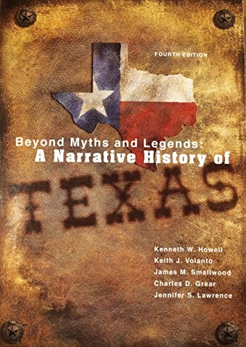 Beyond Myths+Legends:Narr.Hist Of Tx.
