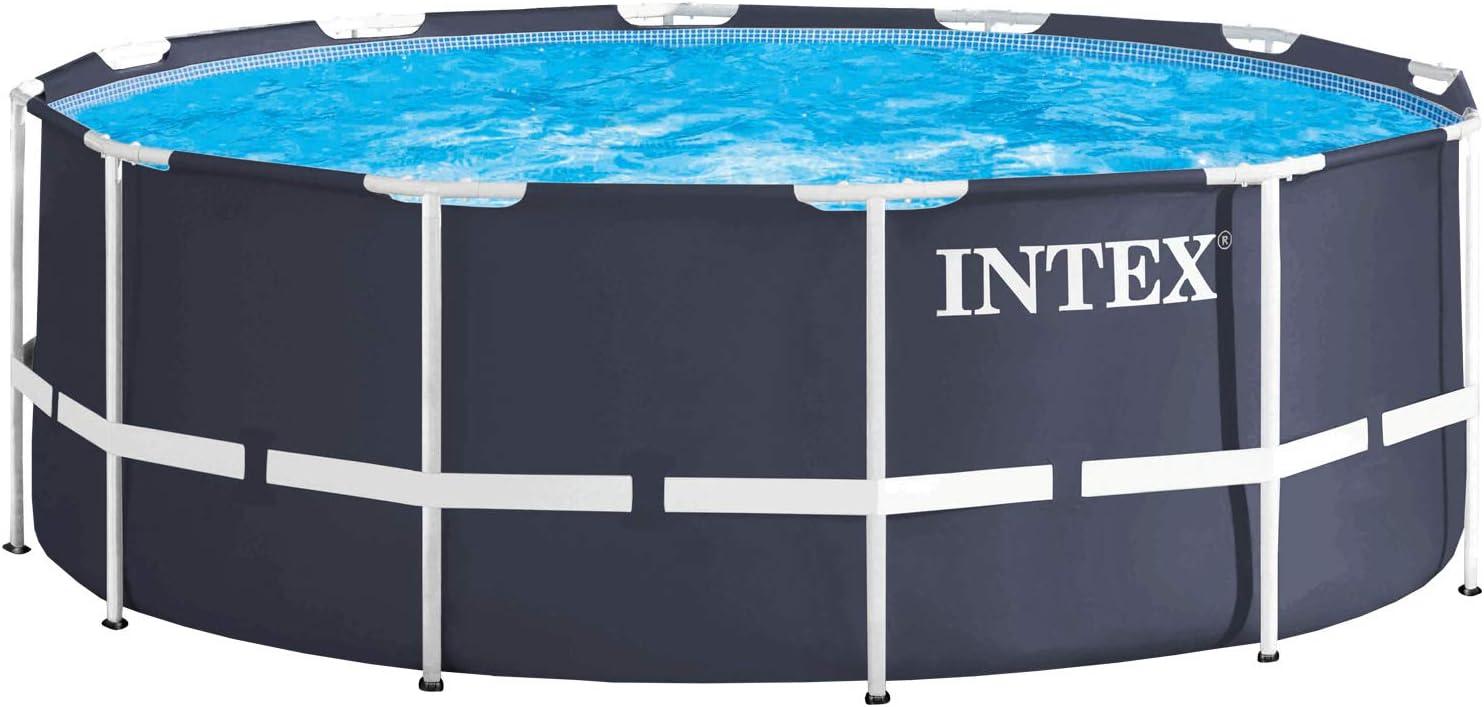 Intex 28904 - Marco de metal para piscina, 366 x 122 cm: Amazon.es ...