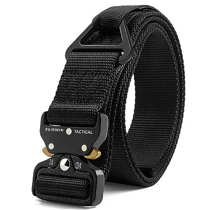 48f300eef0b Amazon.com  Fairwin Tactical Rigger Belt