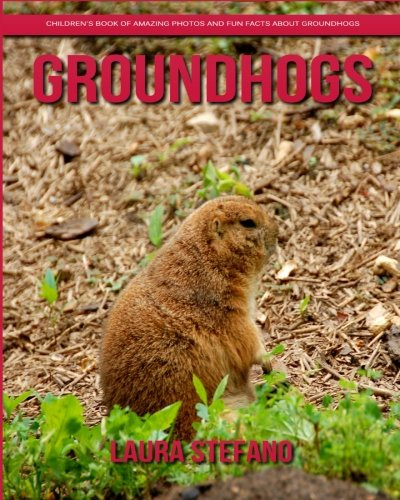 Groundhogs: Children's Book of Amazing Photos and Fun Facts about Groundhogs