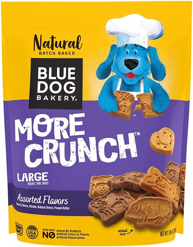 Blue Dog Bakery Natural Dog Treats, Assorted, More Flavors