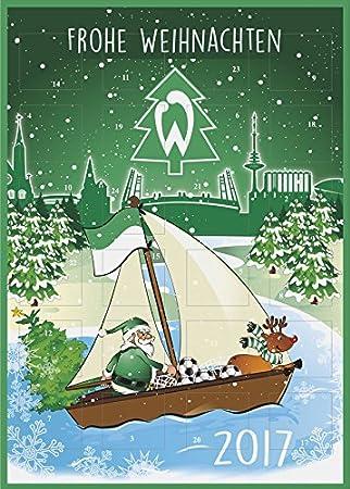 Frohe Weihnachten Werder Bremen.Sv Werder Bremen Football Advent Calendar 2017 Design