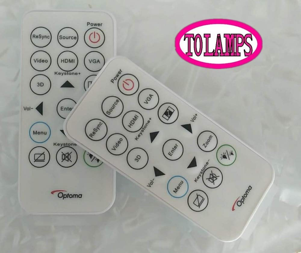Calvas IR29033 New DLP Projector Remote Control For OPTOMA ONX715 OTS413 OES913 OSX852 OSS851 S315 S316 X316 X315