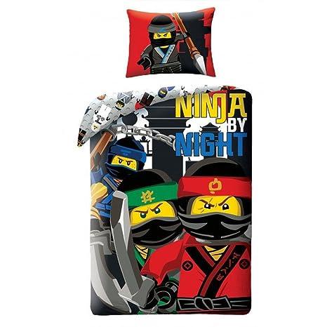 Amazon.com: LEGO Ninjago por la noche Juego de edredón ...