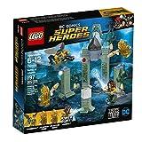 LEGO Juego de Construcción DC Comics Super Heroes Justice League Aquaman Batalla en la Atlántida (76085)