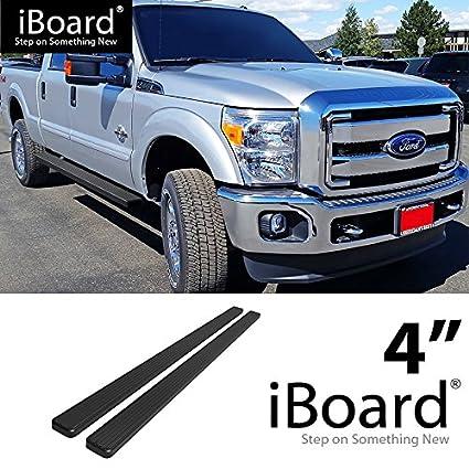 APS Premium 6in Black iBoard Running Boards Custom Fit 99-16 Ford F250 F350 F450 Crew Cab