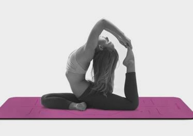 ZHANGHAOBO PU Caucho Yoga Mat Antideslizante Fitness Balance ...