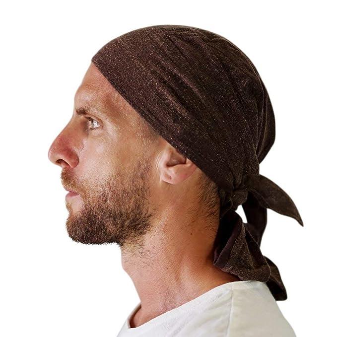 7cb745404d8 Amazon.com   Pirate Bandana  Biker Skullcap Renaissance Medieval Hat ...
