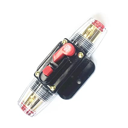 amazon com qiorange 100a auto car protection stereo switch fuse rh amazon com