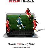 "RDP ThinBook 1130-EC1 (Intel Quad Core 1.92 GHz Processor/2GB RAM/32GB Storage/Windows 10/10.5 Hours Battery Backup) 11.6"" HD Ips Panel"