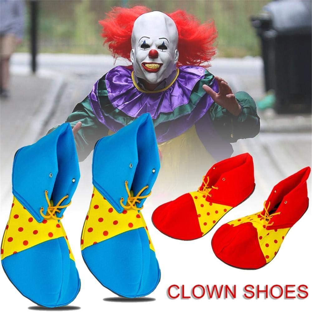 Zapatos De Payaso Con Puntos Fundas De Zapatos De Payaso Botas De ...
