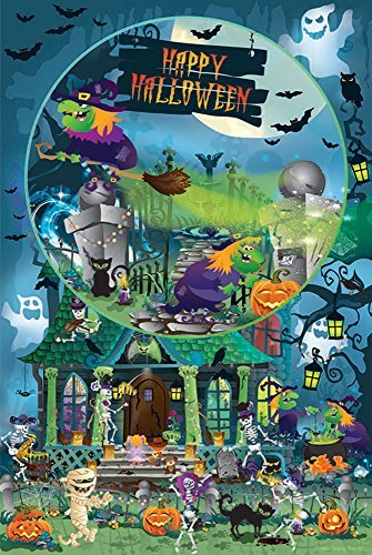 Trick or Treat for All Ages - Happy Halloween - Family 625 Piece Jigsaw Puzzle by SunsOut -