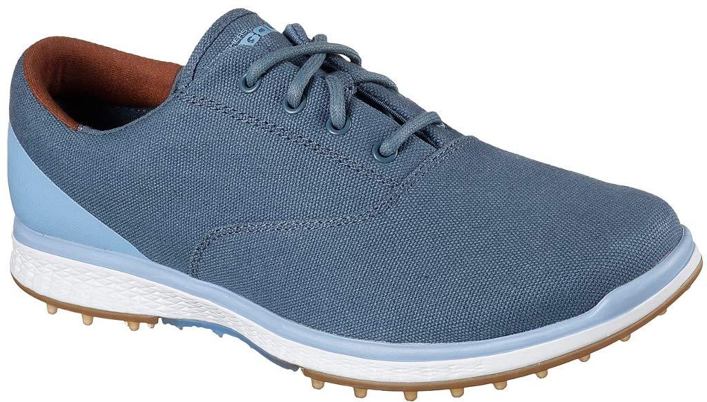 Skechers Performance Women's Go Golf Elite Canvas Golf Shoe,Navy/Blue,8.5 M US