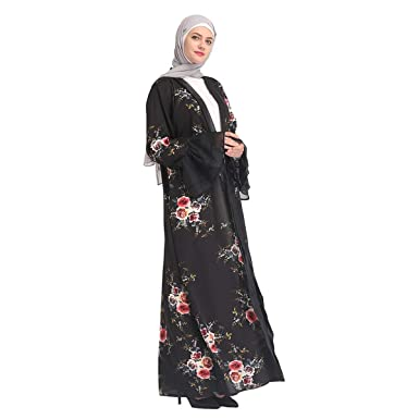 db6ae9bde8e Amazon.com  2019 Hot! Muslim Summer Dress
