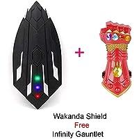 FancyDressWale American Captain Wakanda Extendible Shield Replica Toy Weapon