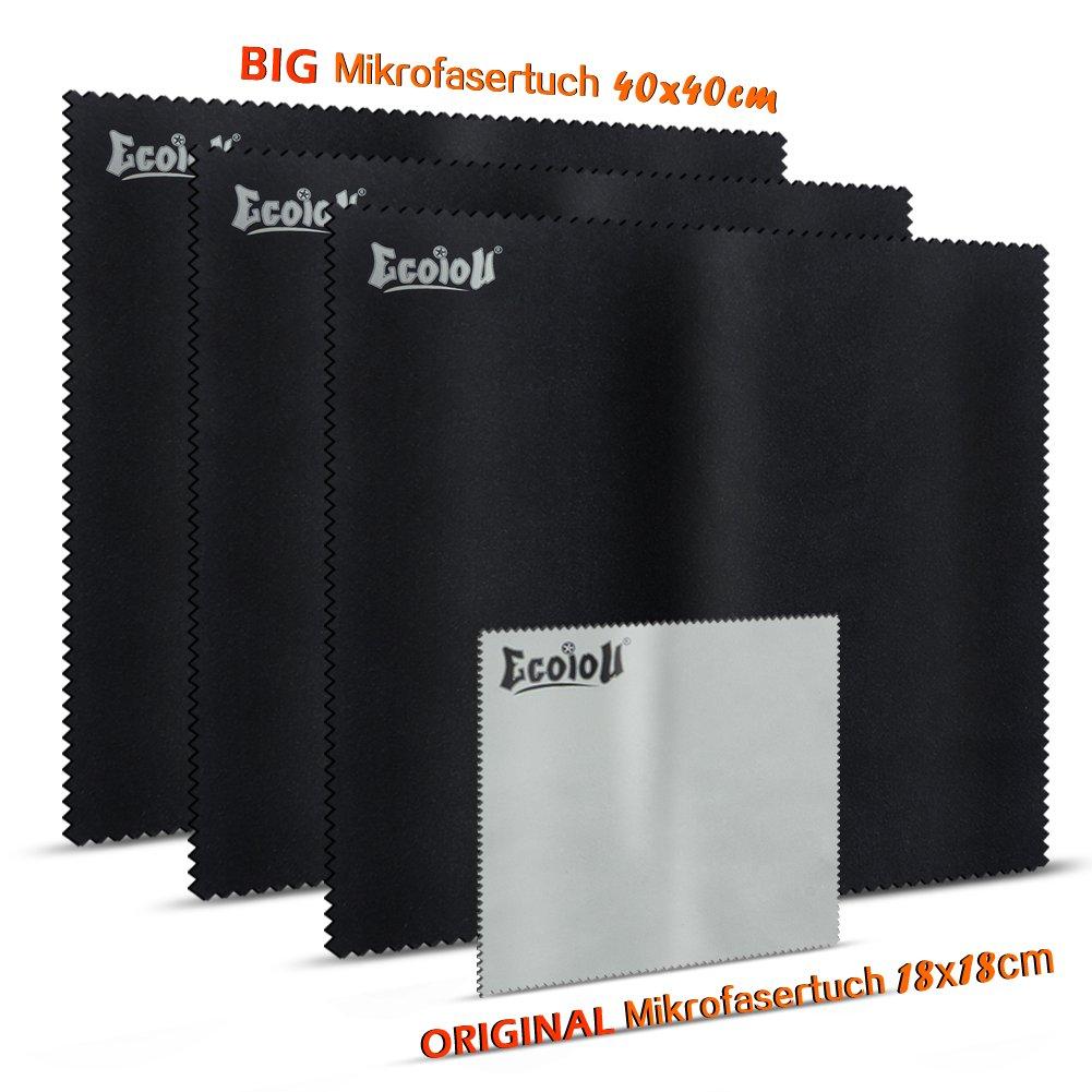 (tv e portatili pack) ecoiou panno in microfibra a 2 facce, con tessuto ultra delicato extra large c FK-005