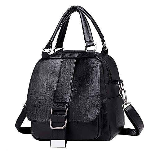Image Unavailable. Image not available for. Color  AgrinTol Women Small Bag  Soft Leather Backpack Multi-function Shoulder Messenger Bag 13510f50c372c