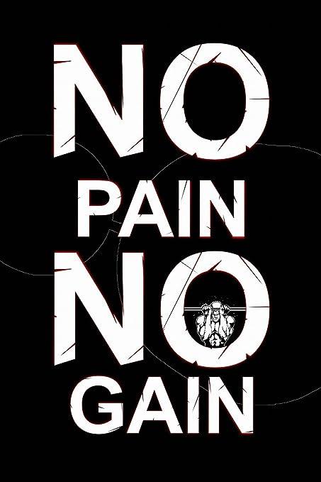 Amazon com: No Pain No Gain Gym Workout Mitivation Poster