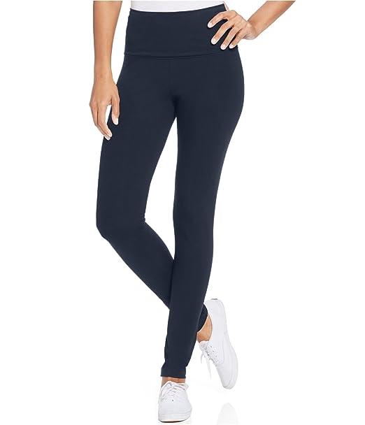6b998b909d Amazon.com: Style & Co. Petite Tummy-Control Active Leggings: Clothing