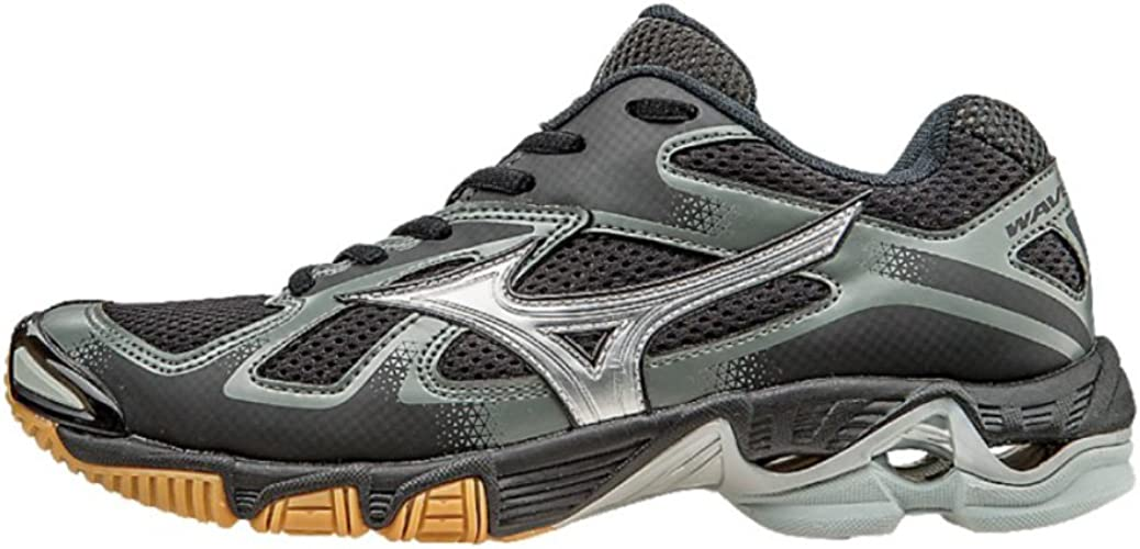 mizuno wave bolt womens volleyball shoes grey