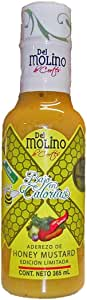 Caja 12 Pz - 355ml Aderezo Del Molino Money Mustard Bajo en Calorias