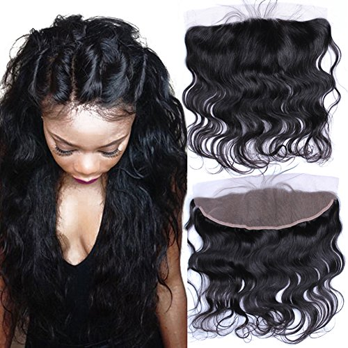 Sunday Hair 7A Lace Frontal Closure 13x4 Body Wave Ear To Ear Full Lace Frontal With Baby Hair Virgin Human Hair 18inch