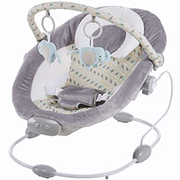 Babywippe Babyschaukel Tender mit Musik Vibration blau Jungen 2 Liegepositionen