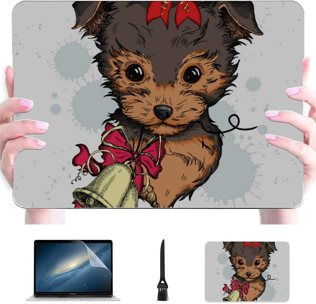 MacBook Air Computer Case Merry Christmas Pleasing Deer Warm Time Plastic Hard Shell Compatible Mac Air 13 Pro 13//16 MacBook Cover 13 Inch Protective Cover for MacBook 2016-2020 Version