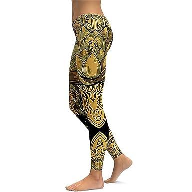 88527e6b0114d Lotus Fitness Yoga Pants Women Sportswear Leggings Push Up Tight Wear Gym  Training Sports Running Leggings
