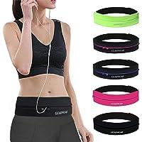 GEARWEAR Waistband Running Belt for iPhone XR XS MAX 8 Plus Phone Holder Women Men Travel Money for Samsung Galaxy for…