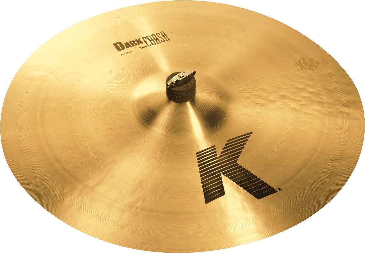 Zildjian 20 K Dark Crash Thin Cymbal