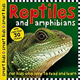 img - for Smart Kids Reptiles and Amphibians: with more than 30 stickers book / textbook / text book