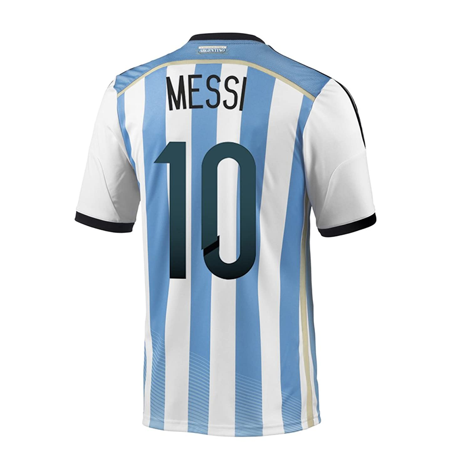... Amazon.com Adidas MESSI 10 Argentina Home Jersey World Cup 2014 (XL)  Soccer ...