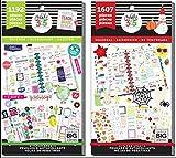 MAMBI Big Happy Planner Teacher Back to School - Teacher Sweet Life and Teacher Seasonal - 2 Item Sticker Value Packs