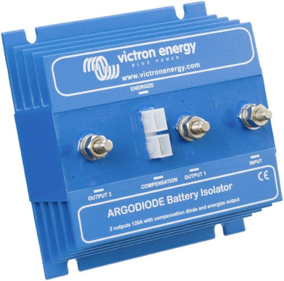 Victron Energy ARG080201000R Argodiode 80-2AC 80 A, 2 baterías 80A
