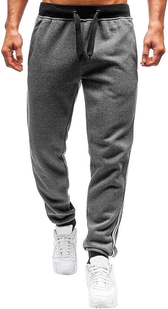 Pantalón para Hombre Casual Jogging Algodón Pantalones de chándal Sueltos Ocasionales Hombre Pantalones Largos Deportivos Jogger Casuales Primavera y Verano: Amazon.es: Ropa y accesorios