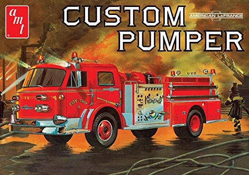AMT AMT1053 1:25 American Lafrance Pumper Fire Truck, Scale