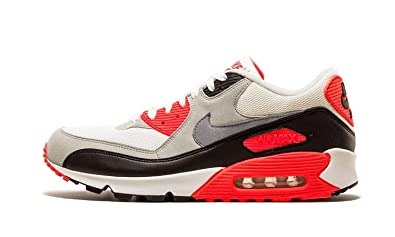 save off 87a29 acff9 Image Unavailable. Image not available for. Color  Nike Air Max 90 Premium  Infrared Classic ...