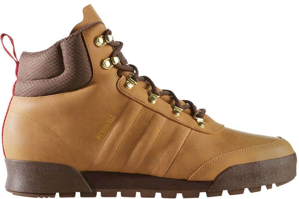 adidas Men's Jake Boot 2.0: High Top (Mesa/Brown/Gum, Size 12)
