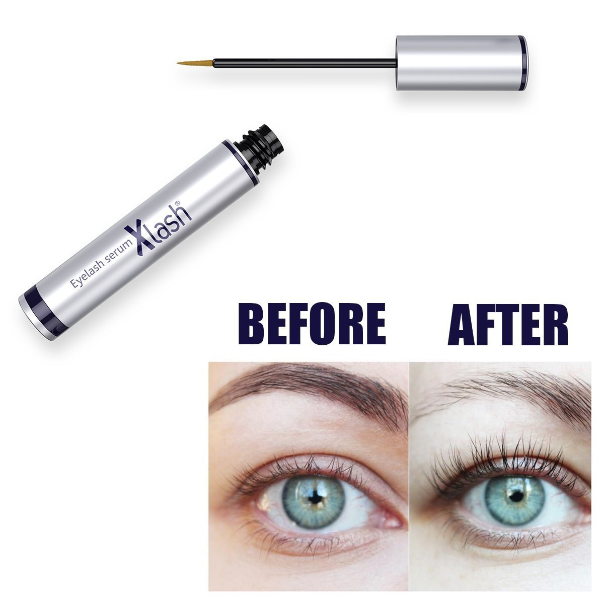 7ef40626ff0 Amazon.com: Xlash Eyelash Serum 3 ml: Beauty