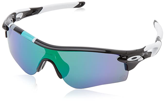 edff6ca98683d7 Oakley Radarlock Path Non-Polarized Iridium Shield Sunglasses,Polished  Black,138 mm