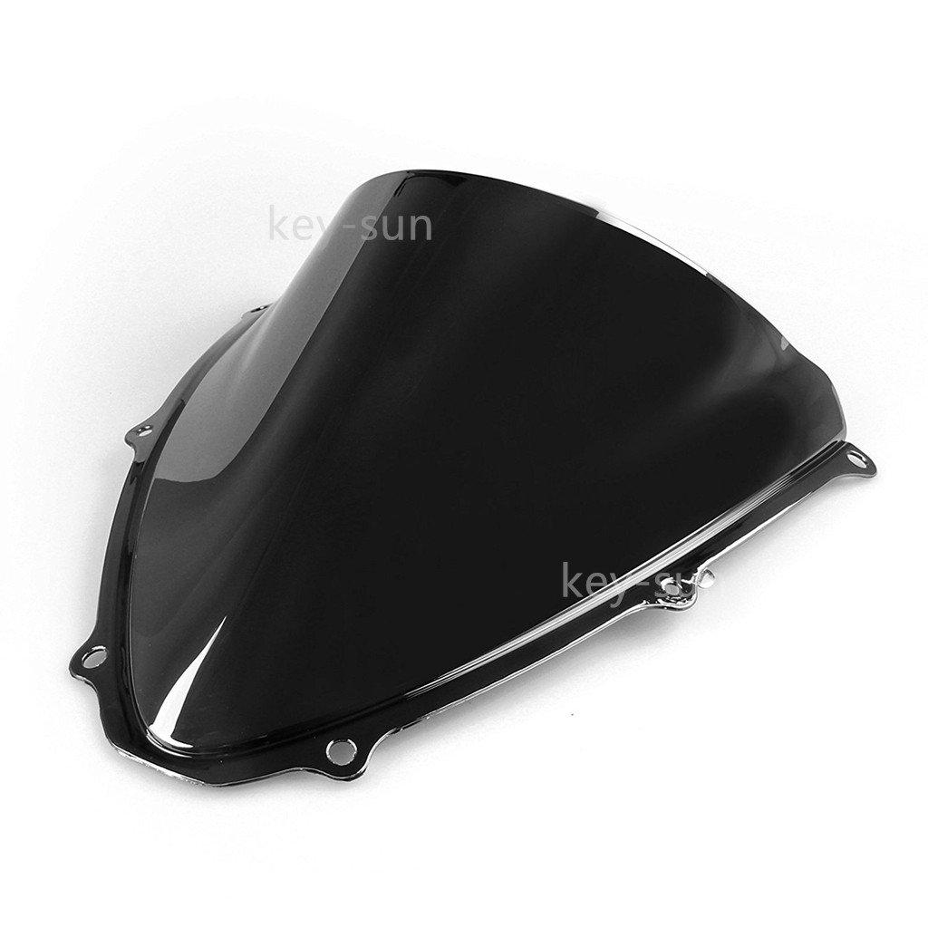 New Smoke Tinted Windscreen Windshield For Suzuki GSXR 600 750 2006 2007 06 07 K6 (Black)