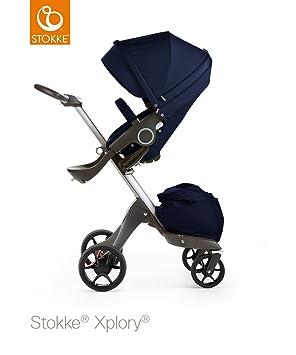 Stokke Xplory V5 plata carrito de bebé, color azul: Amazon ...