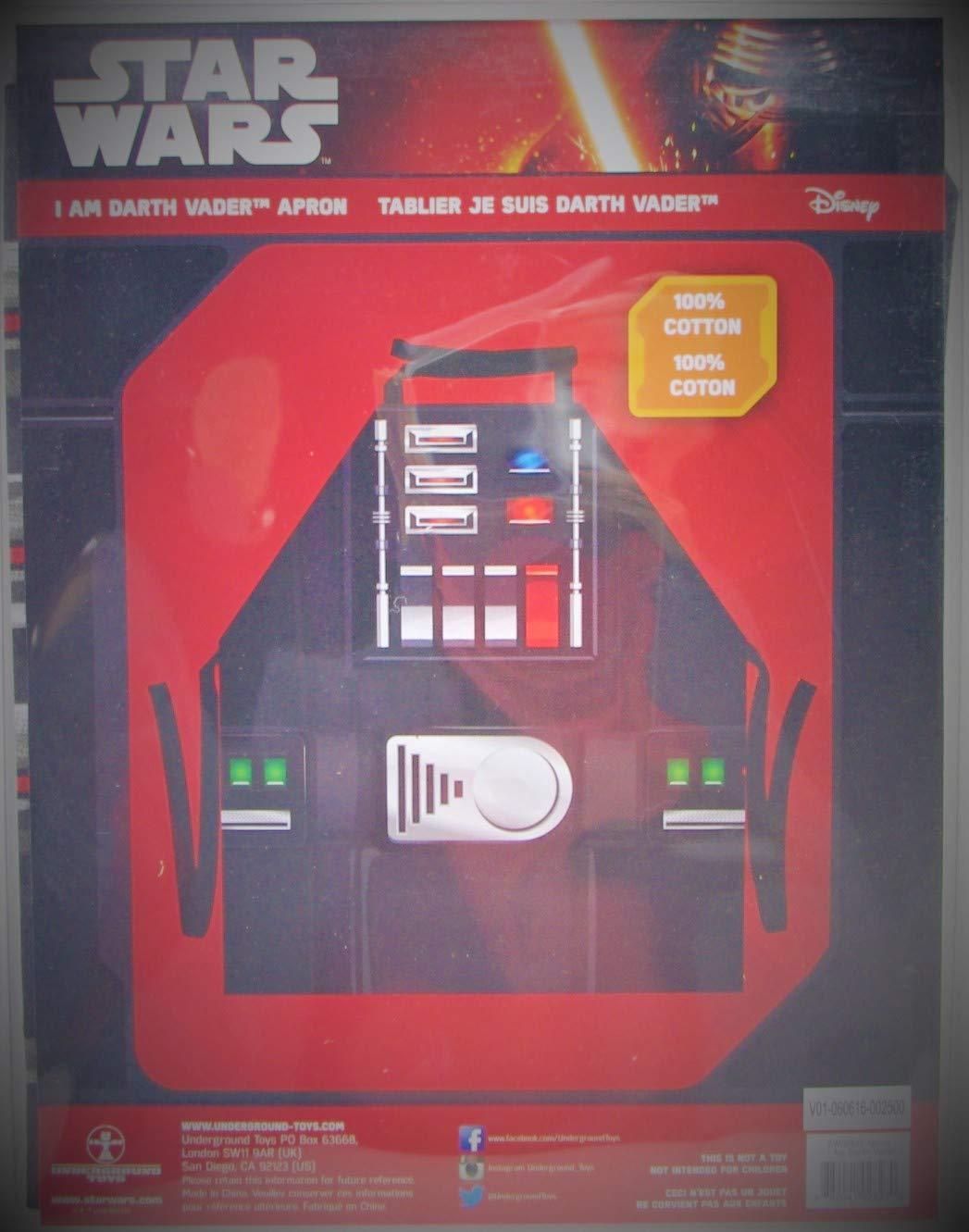 クッキングエプロン I am Darth Vader   B07KB8DM8Q