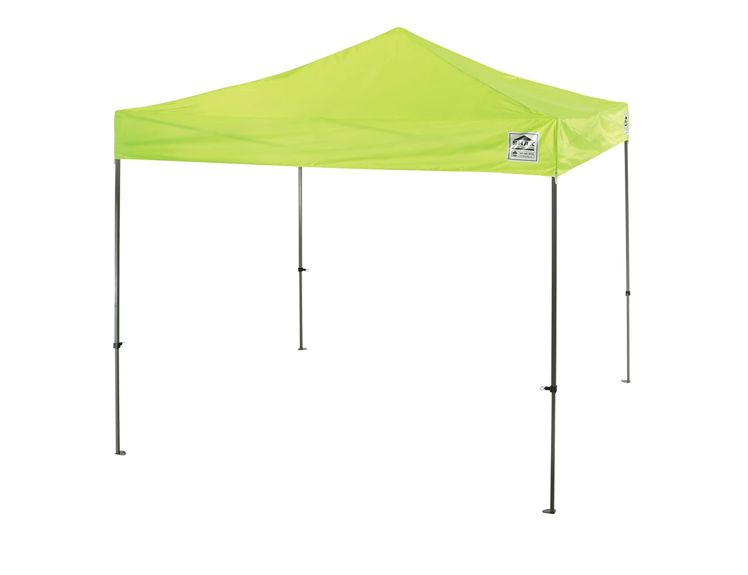 Amazon.com Ergodyne SHAX 6010 Pop-Up Canopy Tent Lightweight 10u0027 x 10u0027 Lime Home Improvement  sc 1 st  Amazon.com & Amazon.com: Ergodyne SHAX 6010 Pop-Up Canopy Tent Lightweight 10 ...