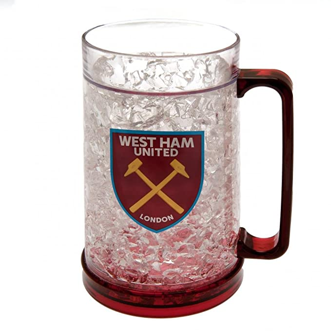 West Ham United FC - Jarra de cerveza oficial para el congelador ...