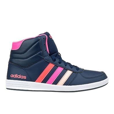 adidas NEO Baseline VS Mid, Damen Hohe Sneakers, Schwarz