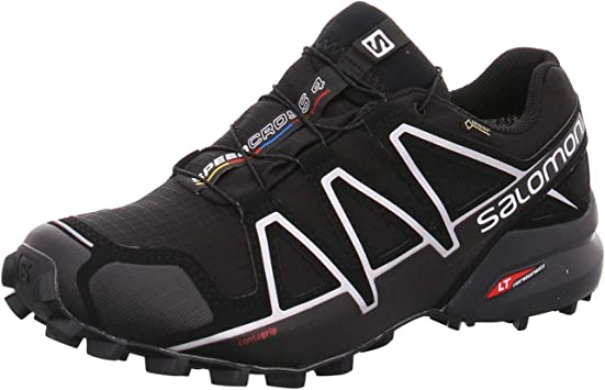 Salomon Speedcross 4 GTX Negro 383181: Amazon.es: Deportes y aire libre