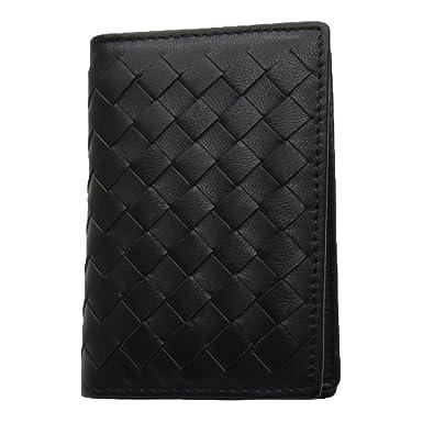 f4634de1a751 Amazon | グランドライン 羊革 レザー 名刺入れ カードケース 二つ折り ...