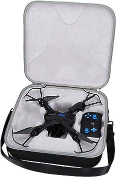 Opinión sobre Aproca Duro Viajes Funda Bolso Caso para SNAPTAIN S5C Drone (Black-Promotion)